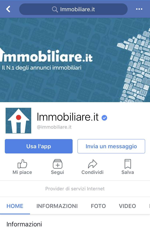 Immagine copertina Facebook mobile - Immobiliare.it