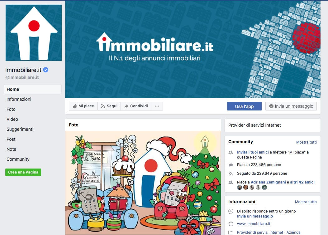 Immagine copertina Facebook desktop - Immobiliare.it