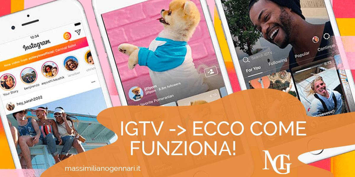 IGTV: Guida su come pubblicare e cosa postare - Massimiliano Gennari